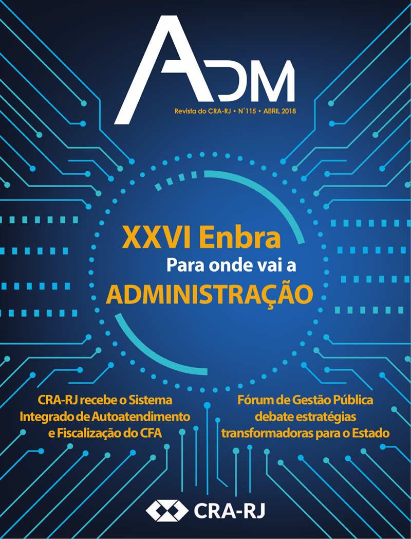 Revista ADM - Edição Número 115 • Abril 2018
