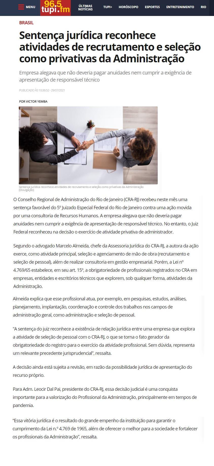 https://www.tupi.fm/brasil/sentenca-juridica-reconhece-atividades-de-recrutamento-e-selecao-como-privativas-da-administracao/